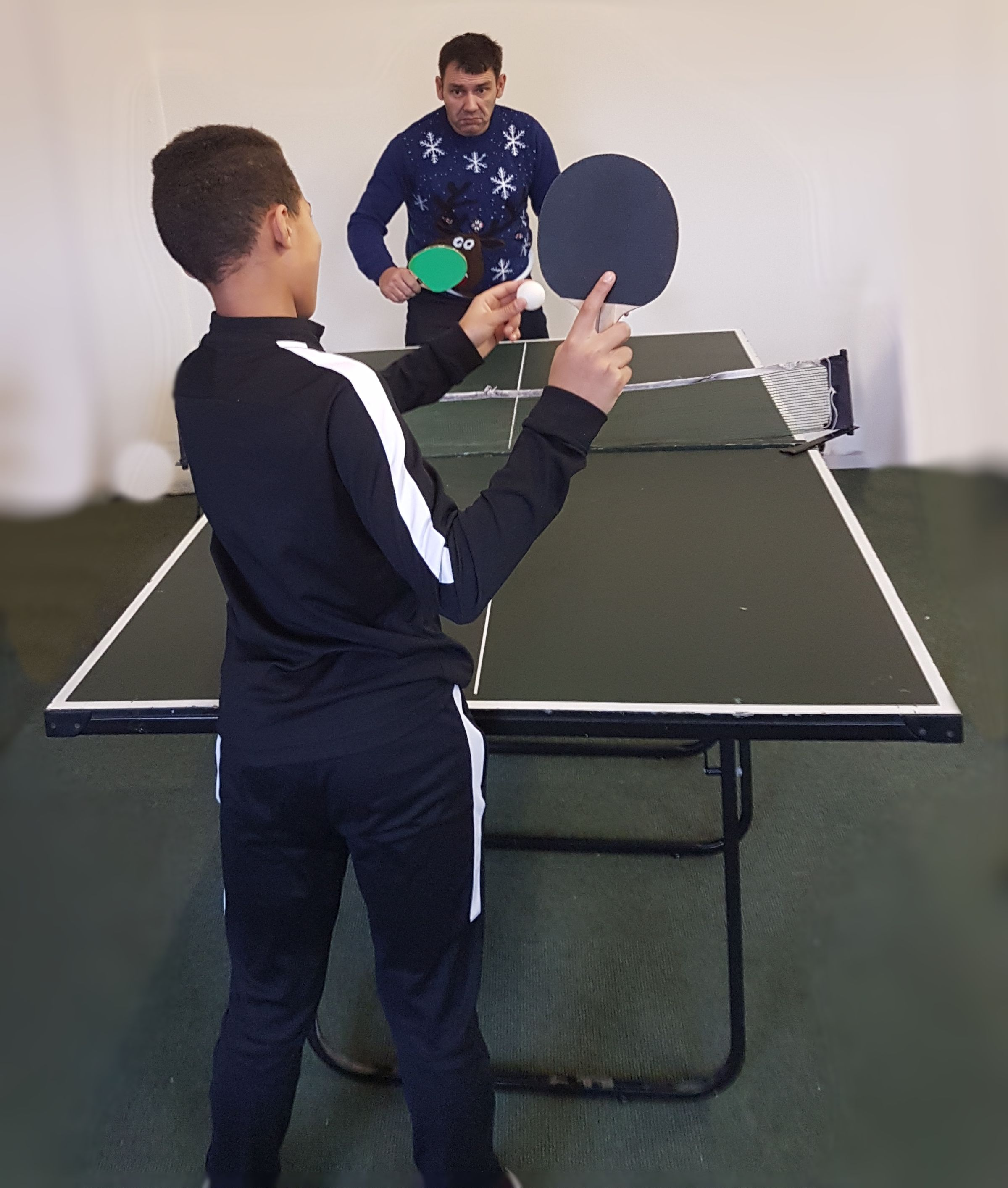 Try table tennis